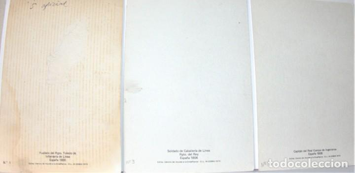 Postales: 6 POSTALES MILITARES DE DELFÍN SALAS - Foto 3 - 192504141