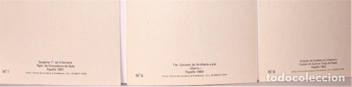 Postales: 8 POSTALES MILITARES DE DELFÍN SALAS Y OTRO - Foto 5 - 192506041