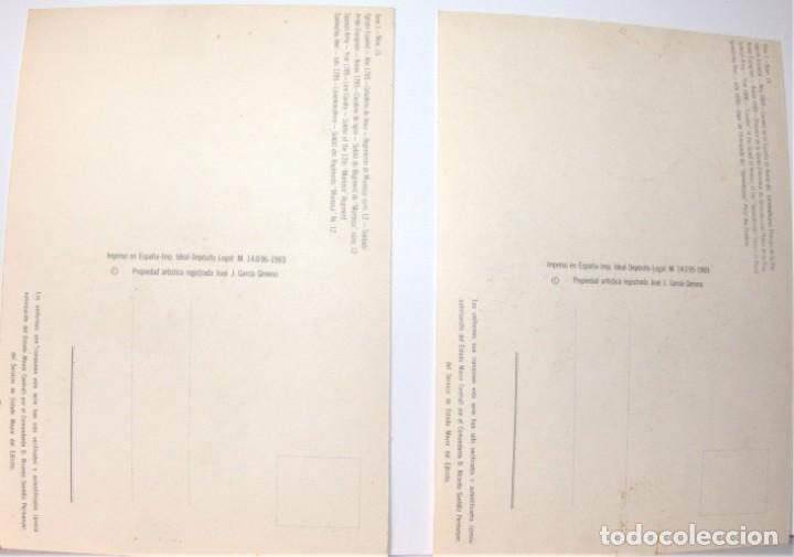 Postales: 8 POSTALES MILITARES DE DELFÍN SALAS Y OTRO - Foto 7 - 192506041