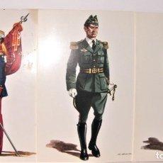 Postales: 33 POSTALES MILITARES DE DELFÍN SALAS. SERIE IV. Lote 192524255