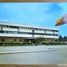 Postales: POSTAL EDIFICIO DE MANDO CAMPAMENTO C.I.R N•7 MARINES ESCRITA, SELLO Y MATASELLO '79. Lote 194094460