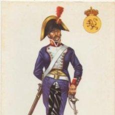 Postales: POSTAL UNIFORMES MILITARES SIGLO XLX. SOLDADO DE CABALLERIA DE LINEA 1804 P-MI-312. Lote 194397907