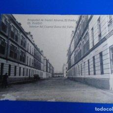 Postales: INTERIOR DELCUARTEL ZARCO DEL VALLE EL PARDO PROPIEDAD DE DANIEL ALVAREZ VER DORSO. Lote 194527796