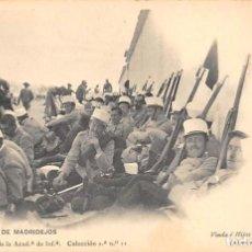 Postales: CARRETERA DE MADRIDEJOS.- GABINETE FOTOGRÁFICO DE LA ACADEMIA INFANTERÍA.. Lote 194677087