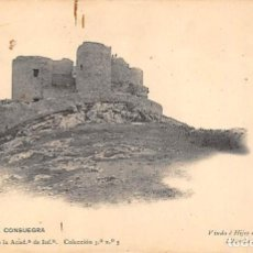 Postales: CASTILLO DE CONSUEGRA.- GABINETE FOTOGRÁFICO DE LA ACADEMIA INFANTERÍA.. Lote 194677246