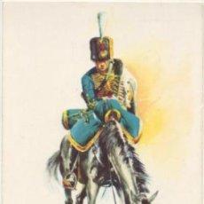 Postales: POSTAL UNIFORMES MILITARES. OFICIAL RGTO. HUSARES DE LA PRINCESA 1905. SERIE 1 Nº 1 P-MI-377. Lote 194677295