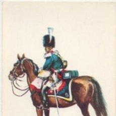 Postales: POSTAL UNIFORMES MILITARES. GRANADERO DEL RGTO. DE CABALLERIA GUARDIA REAL 1824 Nº 3 P-MI-379,2. Lote 194677491
