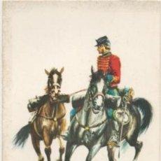 Postales: POSTAL UNIFORMES MILITARES. SOLDADO DEL RGTO. DE HUSARES DE PAVIA 1885. SERIE 1 Nº 6 P-MI-380,2. Lote 194677592