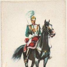 Postales: POSTAL UNIFORMES MILITARES. CAPITAN DE LA ESCOLTA REAL 1890. SERIE 1 Nº 13 P-MI-383. Lote 194677832