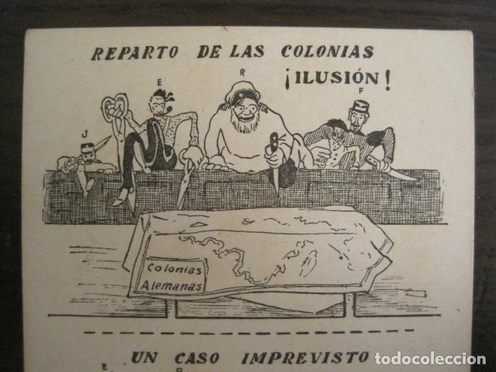 Postales: COLONIAS ALEMANIAS-REPARTO DE LAS COLONIAS-POSTAL ANTIGUA-REVERSO SIN DIVIDIR-(67.925) - Foto 2 - 194876018