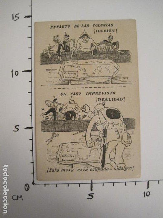 Postales: COLONIAS ALEMANIAS-REPARTO DE LAS COLONIAS-POSTAL ANTIGUA-REVERSO SIN DIVIDIR-(67.925) - Foto 5 - 194876018