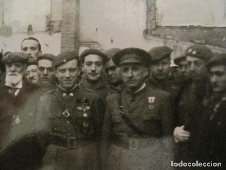 Postales: BARCELONA-MILITARES-POSTAL FOTOGRAFICA ANTIGUA MILITAR-VER FOTOS-(67.944) - Foto 2 - 194882008