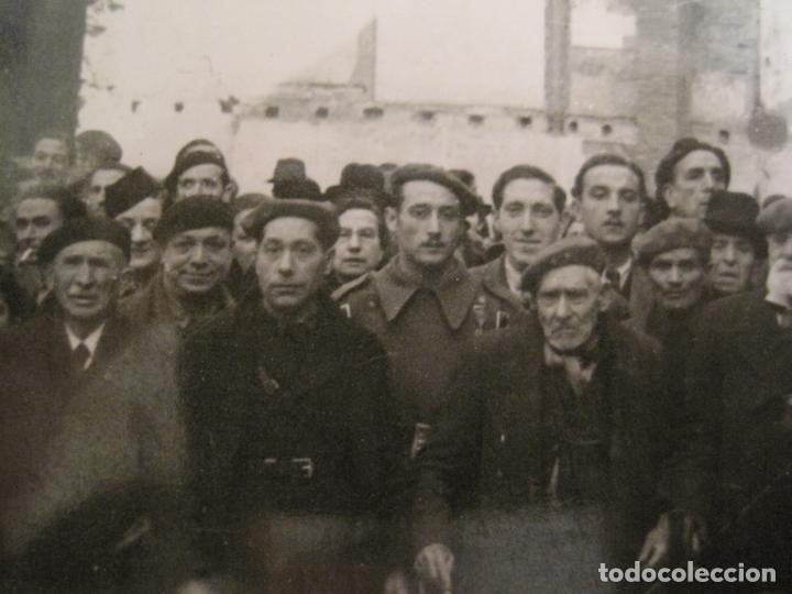 Postales: BARCELONA-MILITARES-POSTAL FOTOGRAFICA ANTIGUA MILITAR-VER FOTOS-(67.944) - Foto 3 - 194882008