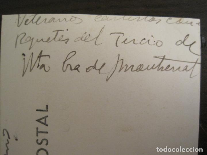 Postales: BARCELONA-MILITARES-POSTAL FOTOGRAFICA ANTIGUA MILITAR-VER FOTOS-(67.944) - Foto 6 - 194882008