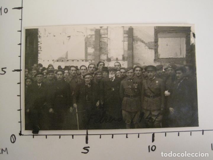 Postales: BARCELONA-MILITARES-POSTAL FOTOGRAFICA ANTIGUA MILITAR-VER FOTOS-(67.944) - Foto 7 - 194882008
