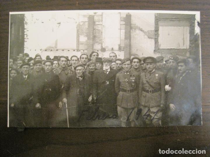BARCELONA-MILITARES-POSTAL FOTOGRAFICA ANTIGUA MILITAR-VER FOTOS-(67.944) (Postales - Postales Temáticas - Militares)