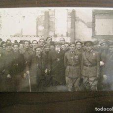 Postales: BARCELONA-MILITARES-POSTAL FOTOGRAFICA ANTIGUA MILITAR-VER FOTOS-(67.944). Lote 194882008