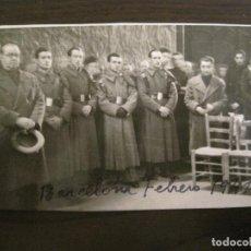 Postales: BARCELONA-MILITARES-POSTAL FOTOGRAFICA ANTIGUA MILITAR-VER FOTOS-(67.945). Lote 194882142