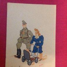 Postales: ANTIGUA POSTAL MILITAR. Lote 194964091