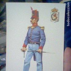 Postales: OFICIAL RGTO LINEA CONSTITUCION 29 1812 ED CENTRO AYUDA ENSEÑANZA 1979 Nº 16. Lote 195007733