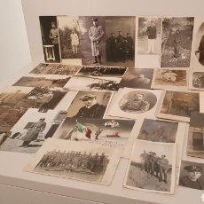 Postales: LOTE 28 FOTOGRAFÍA/ TARJETA POSTAL ORIGINALES DE MILITARES DE EUROPA/ MIREN LAS FOTOGRAFÍAS. Lote 195047048