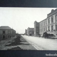 Postales: POSTAL FOTOGRÁFICA. HOSPITAL MILITAR ESPAÑOL DE TETÚAN. FACHADA PRINCIPAL. 1921.. Lote 195214045