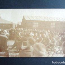 Postales: POSTAL FOTOGRÁFICA. HOSPITAL MILITAR ESPAÑOL DE TETÚAN. CEREMONIA MILITARES Y MONJAS. 1921.. Lote 195214536