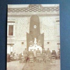 Postales: POSTAL FOTOGRÁFICA. HOSPITAL MILITAR ESPAÑOL DE TETÚAN. CEREMONIA MILITARES Y MONJAS. 1921.. Lote 195214595