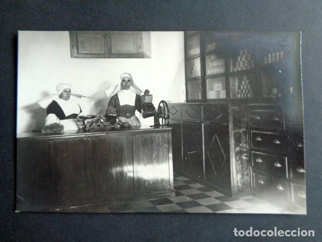 POSTAL FOTOGRÁFICA. HOSPITAL MILITAR ESPAÑOL DE TETÚAN. INTENDENCIA. TIENDA, DESPENSA ABASTECIMIENTO (Postales - Postales Temáticas - Militares)