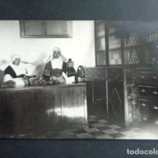 Postales: POSTAL FOTOGRÁFICA. HOSPITAL MILITAR ESPAÑOL DE TETÚAN. INTENDENCIA. TIENDA, DESPENSA ABASTECIMIENTO. Lote 195214852