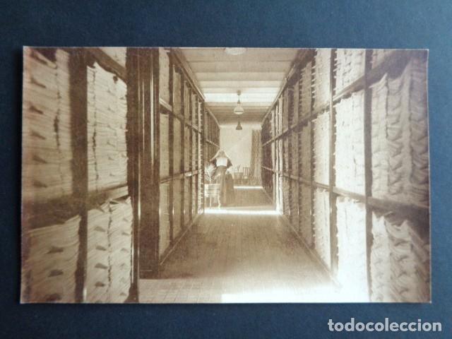 POSTAL FOTOGRÁFICA. HOSPITAL MILITAR ESPAÑOL DE TETÚAN. SALA DE LAVANDERÍA. 1921. (Postales - Postales Temáticas - Militares)
