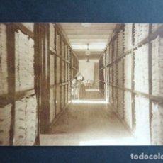 Postales: POSTAL FOTOGRÁFICA. HOSPITAL MILITAR ESPAÑOL DE TETÚAN. SALA DE LAVANDERÍA. 1921.. Lote 195215093