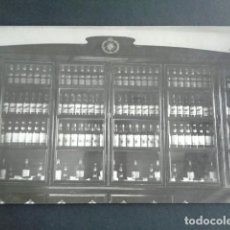 Postales: POSTAL FOTOGRÁFICA. HOSPITAL MILITAR ESPAÑOL DE TETÚAN. INTENDENCIA. VITRINA DE VINO Y LICORES. 1921. Lote 195215121
