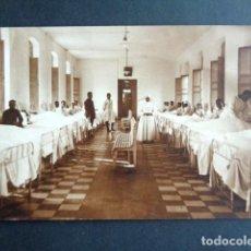 Postales: POSTAL FOTOGRÁFICA. HOSPITAL MILITAR ESPAÑOL DE TETÚAN. SALA DE ENFERMERÍA Y HERIDOS. 1921.. Lote 195215297