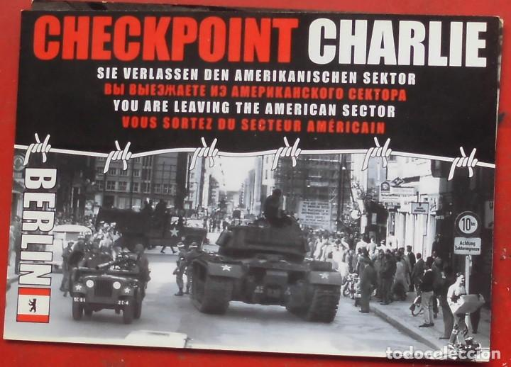 Postales: CHECK POINT CHARLIE EN BERLÍN - Foto 1 - 195249941