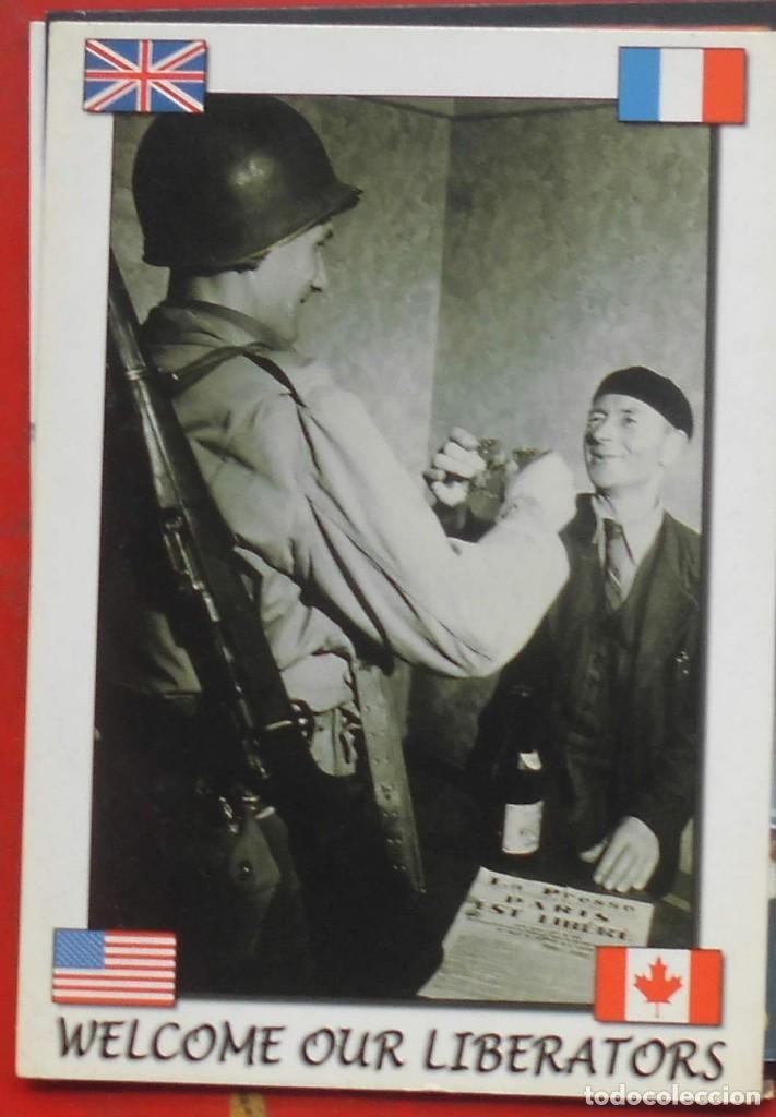 LIBERACIÓN DE FRANCIA 1944 (Postales - Postales Temáticas - Militares)