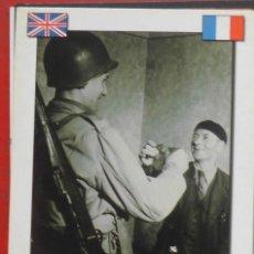 Postales: LIBERACIÓN DE FRANCIA 1944. Lote 195249966