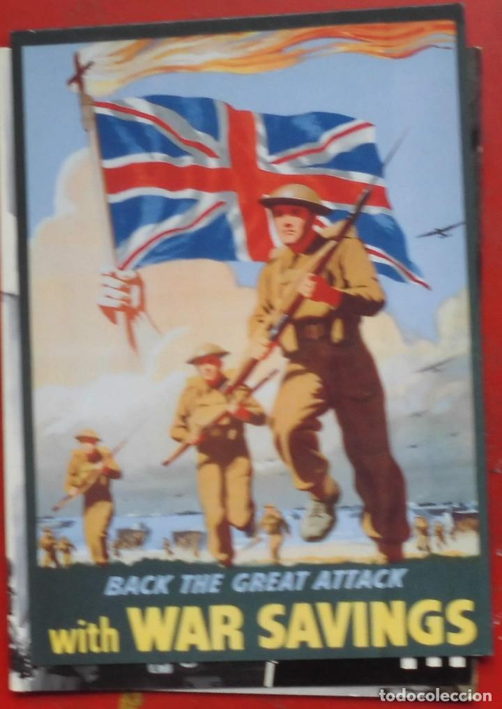 PROPAGANDA DE GUERRA BRITÁNICA (Postales - Postales Temáticas - Militares)