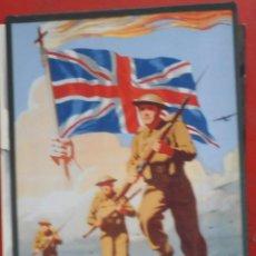 Postales: PROPAGANDA DE GUERRA BRITÁNICA. Lote 195249993