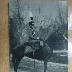 Postales: MILITAR A CABALLO. FOTO FRANZEN.. Lote 195300845