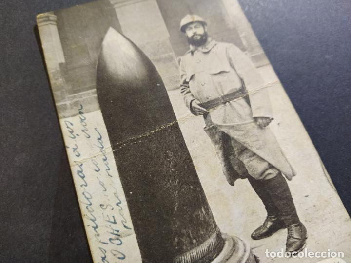Postales: MILITAR-OBUS DE ALREDEDORES DE VERDUN-POSTAL ANTIGUA-(68.179) - Foto 3 - 195311891