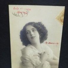 Postales: TARJETA POSTAL FOTOGRAFICA. REGIMIENTO DE INFANTERIA GERONA. Nº 22. PRIMER BATALLON 2ª COMPAÑIA. . Lote 195806687