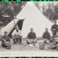 Postales: LE CAMP D'AUVOURS - LE CAFÈ - LE MANS (FRANCIA) - CIRCULADA - PJRB . Lote 195993026