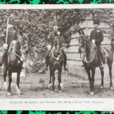 Postales: CORPORAL, SERGEANT AND PRIVATE, 8 TH (KING'S ROYAL IRISCH) HUSSARS - CIRCULADA - PJRB . Lote 195994905
