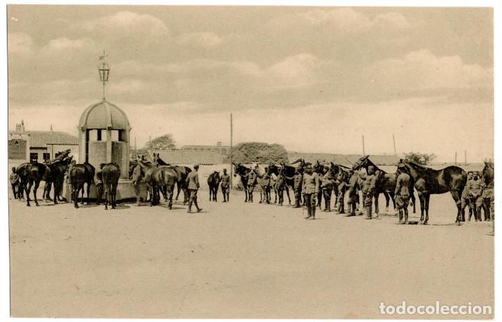 Postales: CUARTEL DE CABALLERÍA. RARA SERIE COMPLETA. - Foto 4 - 196359266