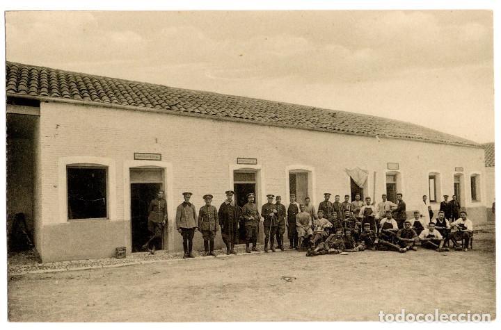 Postales: CUARTEL DE CABALLERÍA. RARA SERIE COMPLETA. - Foto 5 - 196359266
