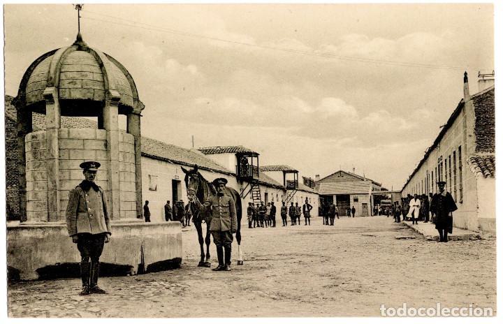 Postales: CUARTEL DE CABALLERÍA. RARA SERIE COMPLETA. - Foto 6 - 196359266