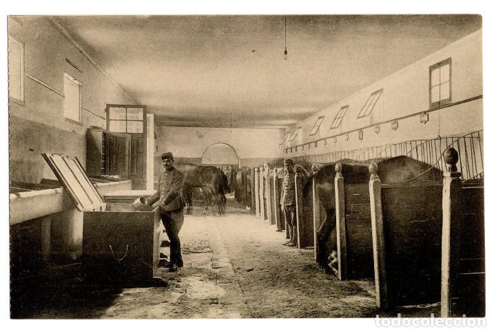 Postales: CUARTEL DE CABALLERÍA. RARA SERIE COMPLETA. - Foto 12 - 196359266