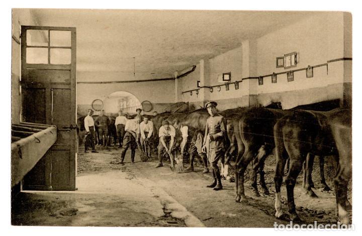 Postales: CUARTEL DE CABALLERÍA. RARA SERIE COMPLETA. - Foto 15 - 196359266
