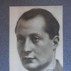 Postales: POSTAL JOSÉ ANTONIO PRIMO DE RIVERA CON SELLO EN TINTA DE FALANGE - ANTIGUA. Lote 192325067